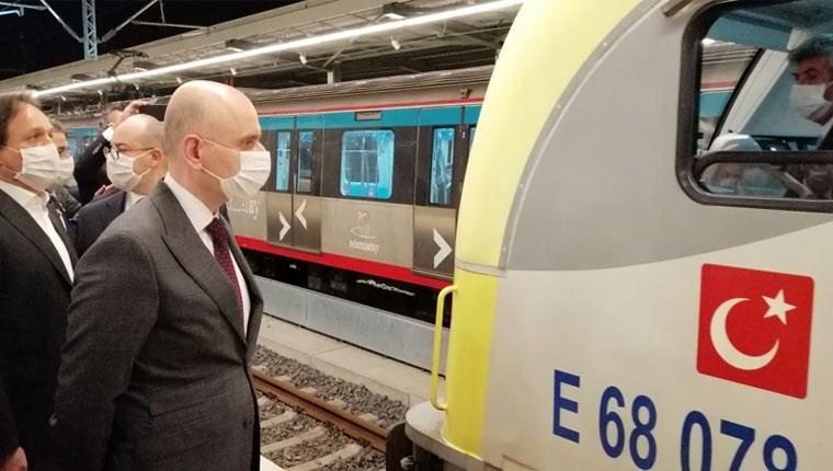 İlk yurt içi yük treni iki kıta arası geçiş yaptı