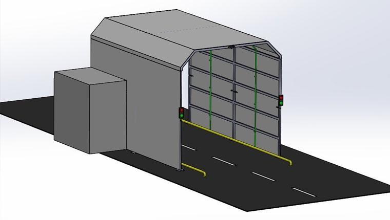 İzmir'de araç dezenfeksiyon tüneli projesi