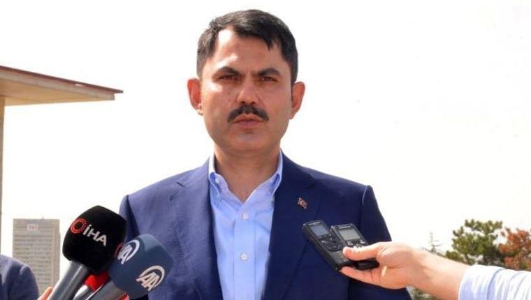 Çevre ve Şehircilik Bakanı Murat Kurum Atatürk Kültür Merkezi Millet Bahçesi