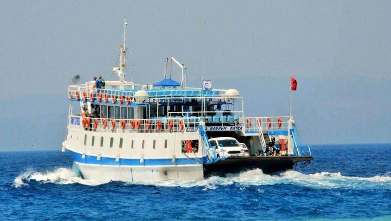 Bodrum-Datça feribot seferleri