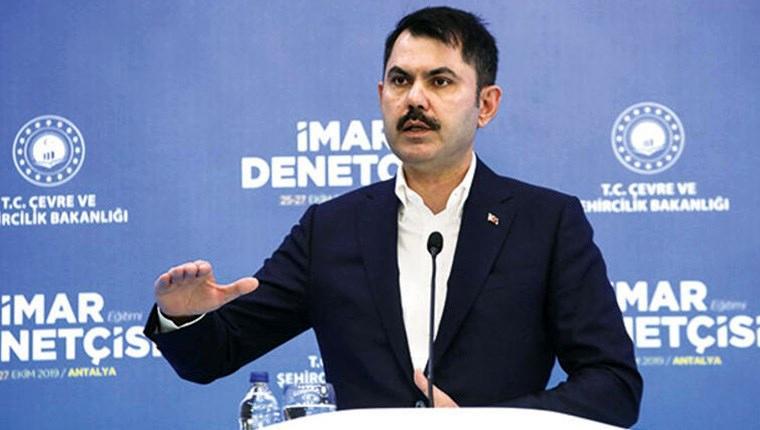 Çevre ve Şehircilik Bakanı Murat Kurum,