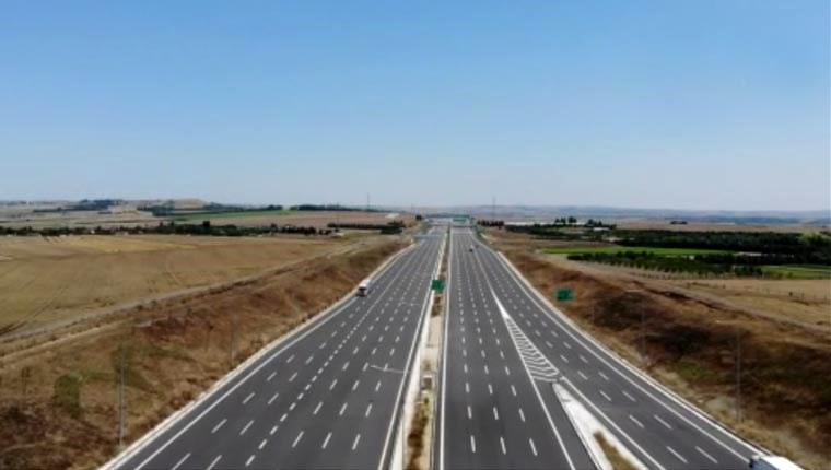 Kuzey Marmara Otoyolu'nda son 112 kilometre