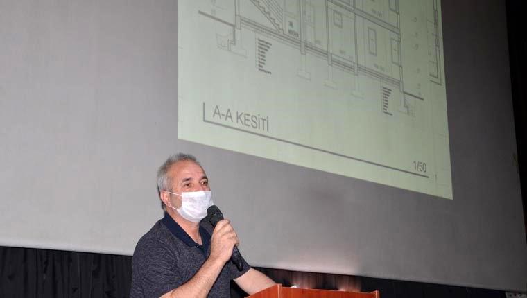 Kırsalda ev yapmak isteyenlere mimarlık hizmeti belediyeden