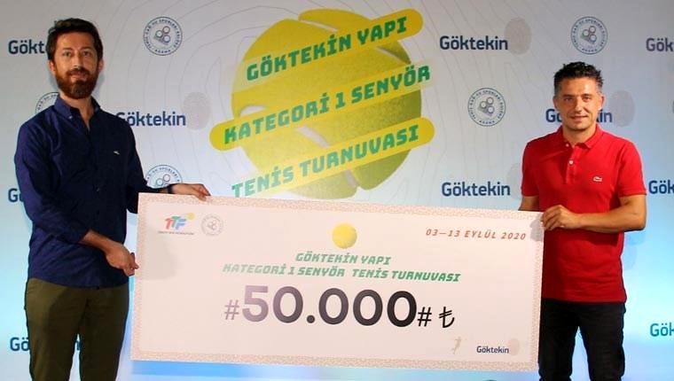 Göktekin Yapı Kategori-1 Senyör Tenis Turnuvası sonlandı