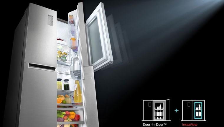 LG InstaView buzdolabında büyük yenilik! Açma, tıkla!