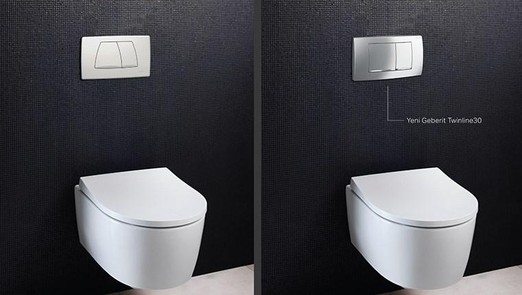 Geberit Twinline ile banyolarda yenilenme dönemi