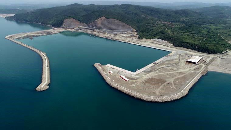 Filyos Limanı'nda 29 Ekim hedefi