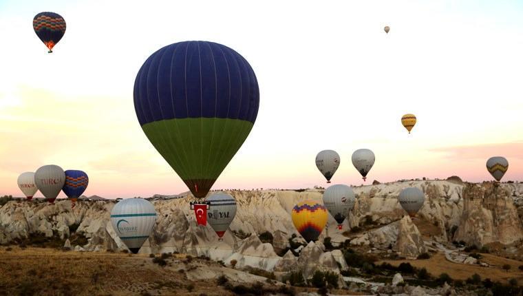 Kapadokya'da balonlar 29 Ekim için havalandı!