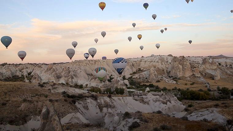 Kapadokya'ya ekim ayında 175 bin 612 turist geldi