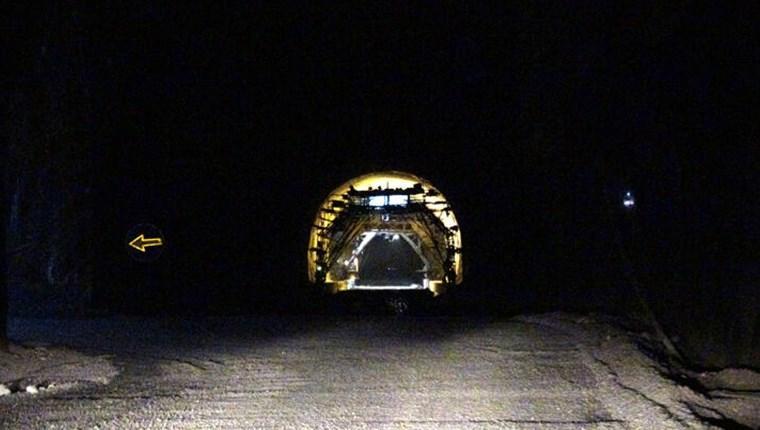 Zigana Tüneli'nin yüzde 76'sı tamamlandı