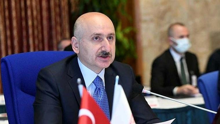 Ulaştırma ve Altyapı Bakanı Adil Karaismailoğlu,