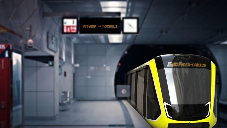 Gebze OSB-Darıca metrosu yerli üretim olacak!