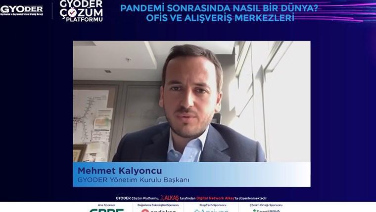 GYODER Başkanı Mehmet Kalyoncu
