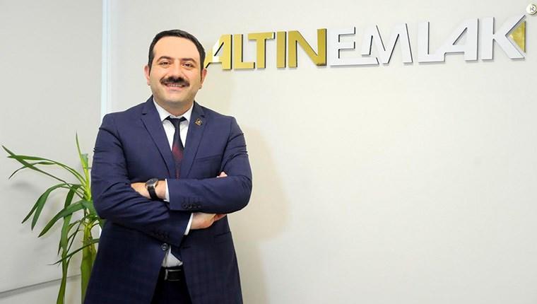 Altın Emlak Genel Müdürü Mustafa Hakan Özelmacıklı