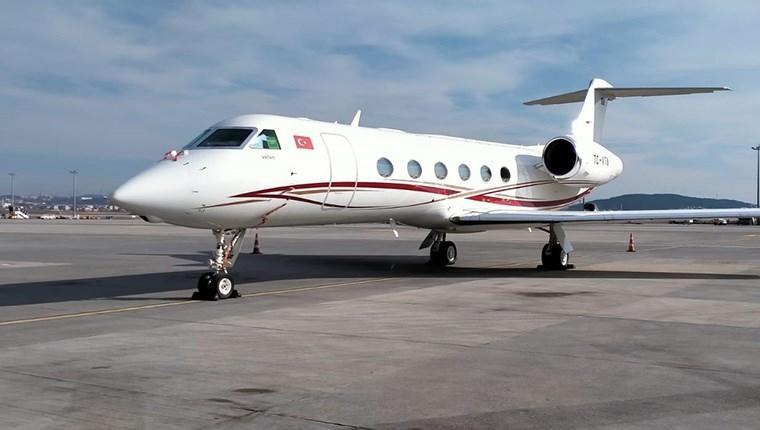 Gulfstream G450 model iş jeti