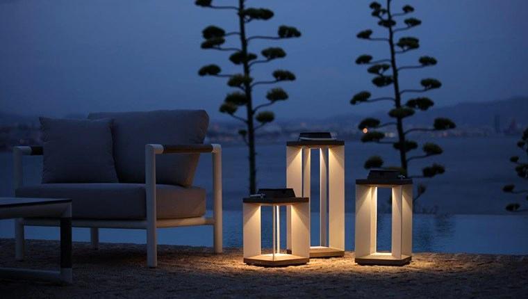 L'unica Les Jardins aydınlatma ürünleriyle ışıl ışıl dış mekanlar