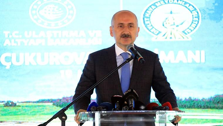 Çukurova Havalimanı inşaatının %92,3'ü tamamlandı