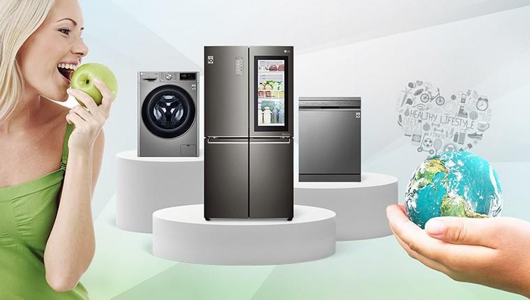 LG ürünleri sağlıklı yaşamı destekliyor