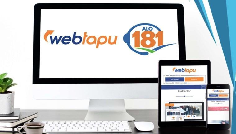 web tapu rendevu sorgulama ipotek işlem iptali nedir tüm işlemler