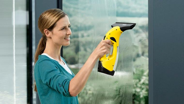 Kärcher Cam Temizleme Makinesi ile eviniz bayrama hazır!