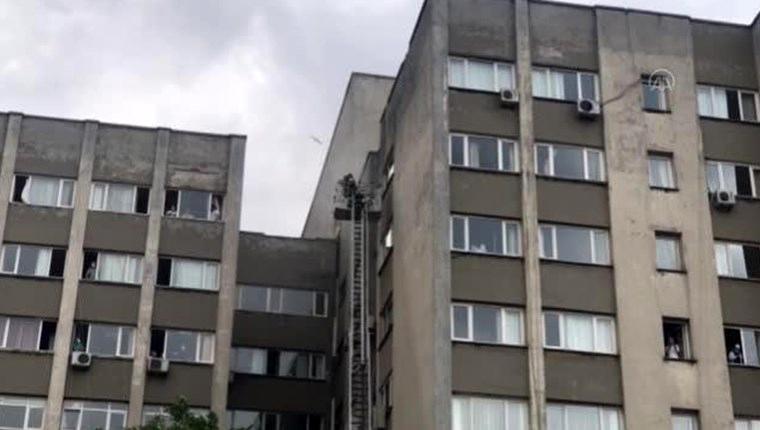 İstanbul Tıp Fakültesi yangın