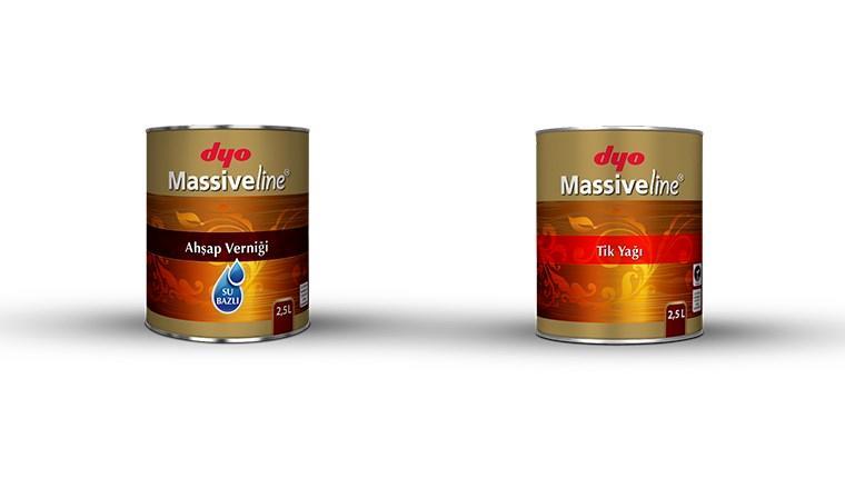 DYO Massiveline Serisi ile ahşaplar koruma altında!