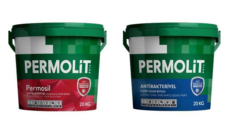 Permolit'ten bütçe dostu antibakteriyel boyalar!