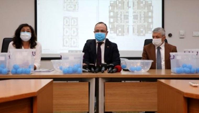 Elazığ'da 763 deprem konutu için kura çekildi
