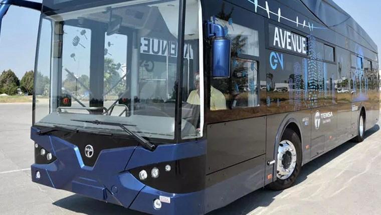 Samsun elektrikli otobüs