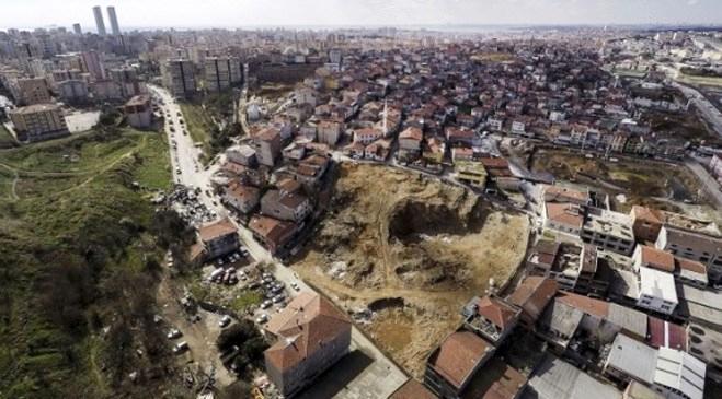 Fikirtepe'de kentsel dönüşüme kuşbakışı!