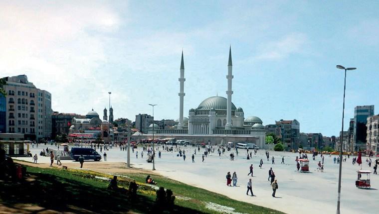 Taksim Camisi bittiğinde böyle olacak!