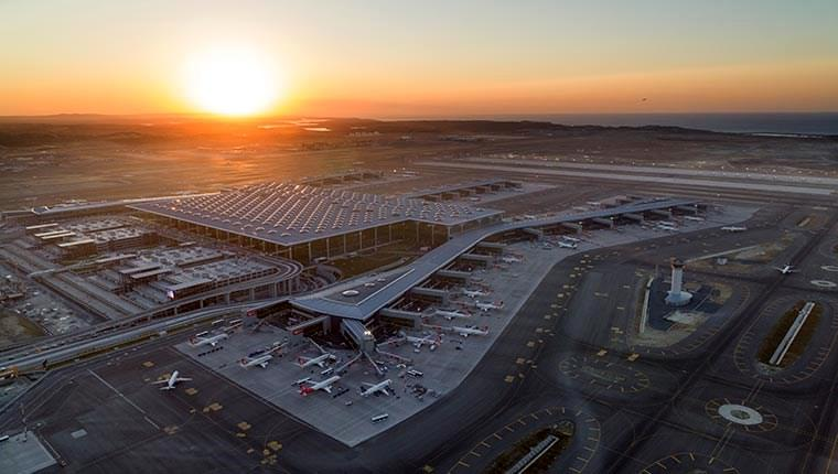 İstanbul Havalimanı havadan görüntülendi!
