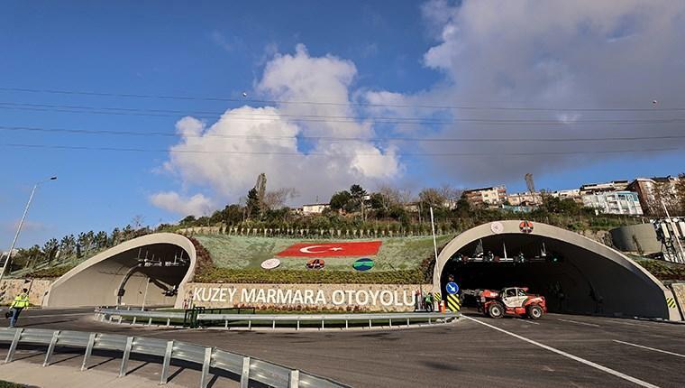 Kuzey Marmara Otoyolu'nun 7'nci kesimi açılışa hazır