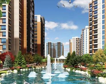 The İstanbul Veliefendi şehrin tam merkezinde yükseliyor