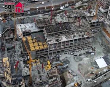 KoruFlorya inşaatını havadan gördünüz mü?