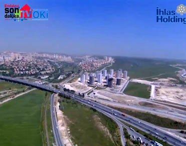 İhlas Holding imzalı Bizim Evler'i havadan görmek ister misiniz?