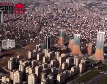 Havadan Varyap Meridian projesine bakın!