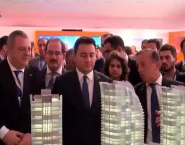 Ali Babacan MIPIM'de Türk firmaların standlarını dolaştı!