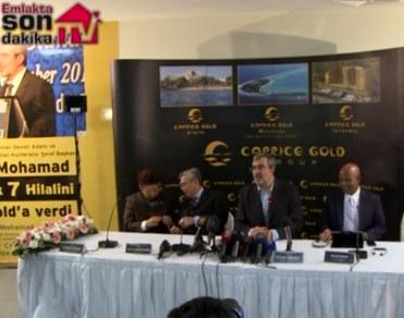 Caprice Gold Maldivler'de otel yapacak