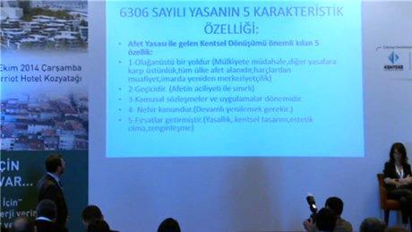 Ali Yüksel, Fikirtepe Çalıştayı'nda konuştu!