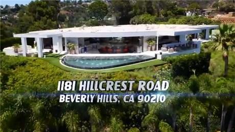 Beverly Hills'teki en lüks villanın içini görmek ister misiniz?