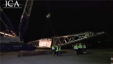3. Köprü'ye 400 tonluk tabliye!