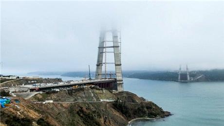 3. Köprü, Şubat ayında hangi aşamadaydı?