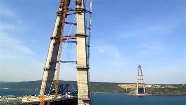 3. Boğaz Köprüsü ve Kuzey Marmara Otoyolu'nda sona doğru...