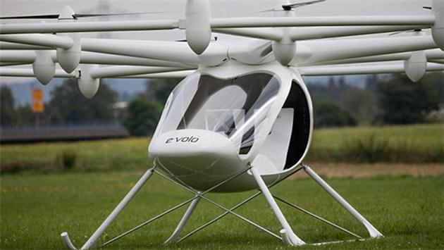 Trafik çilesini Volocopter bitirecek!