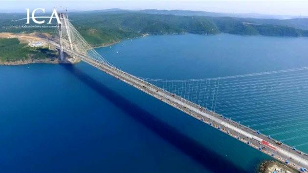 3. Köprü'de çalışmaların sonuna geliniyor!