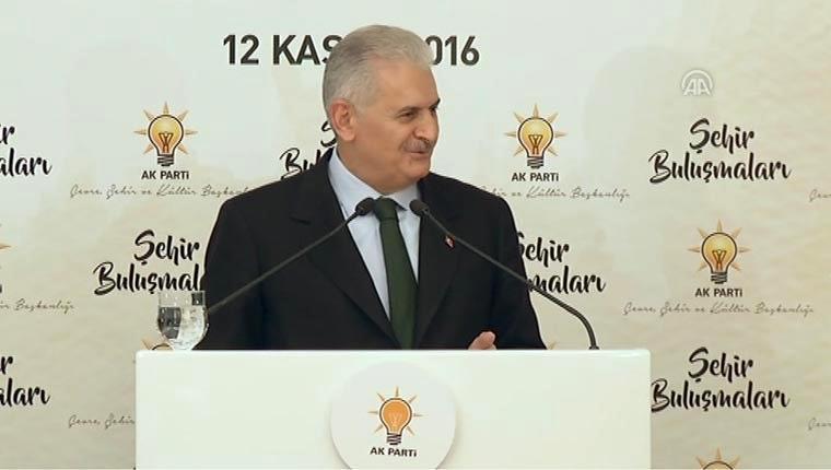Başbakan Yıldırım'dan Karadenizli müteahhitlere gönderme!