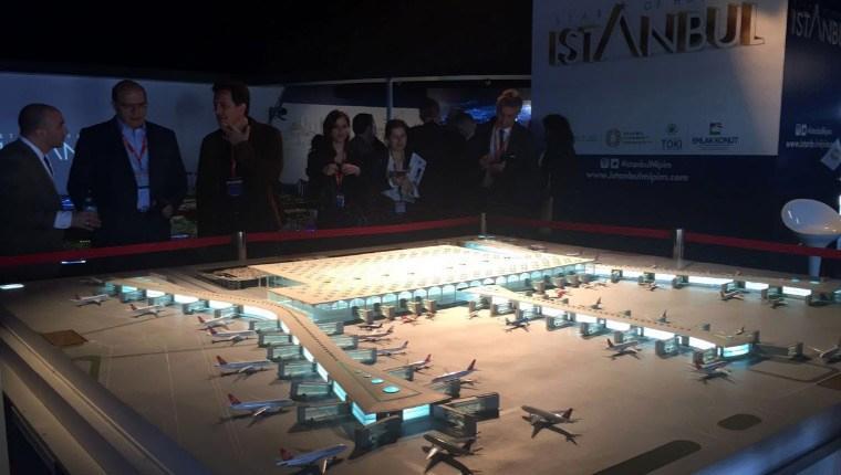 3. Havalimanı maketi MIPIM'de göz aldı