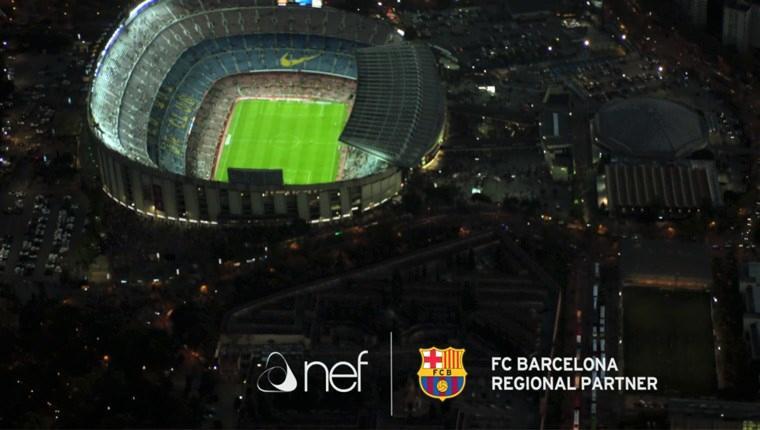 FC Barcelona'nın yeni sponsoru Nef!