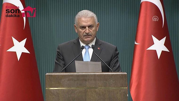 Başbakan Binali Yıldırım, yeni kabineyi açıkladı!